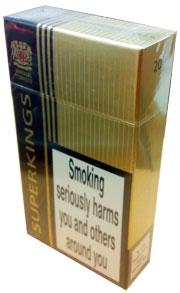 Red box Kool cigarettes